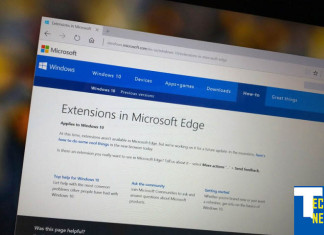Windows 10: Extensions for Edge to arrive with Redstone i