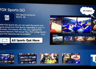 FOX Sports GO Now Available on Apple TV