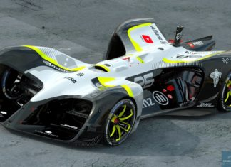 Roborace self-driving electric racer